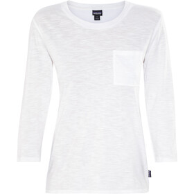 Patagonia Mainstay - T-shirt manches longues Femme - blanc